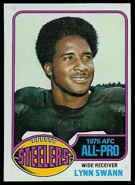Lynn Swann 1976 Topps football card