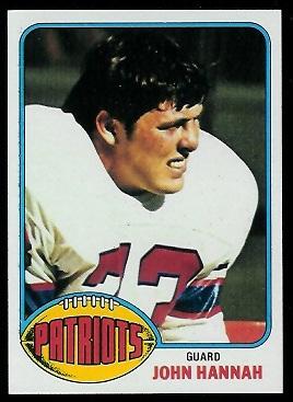 John Hannah 1976 Topps 16 Vintage Football Card Gallery