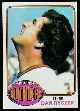 Dan Ryczek 1976 Topps football card