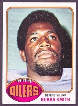 Bubba Smith 1976 Topps football card