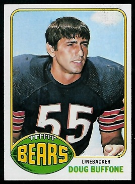 Doug Buffone 1976 Topps football card