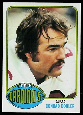 Conrad Dobler 1976 Topps football card