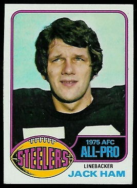 Jack Ham 1976 Topps football card