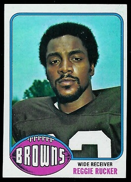 Reggie Rucker 1976 Topps football card