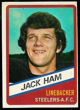 Jack Ham 1976 Wonder Bread football card