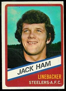 Jack Ham 1976 Wonder Bread football card