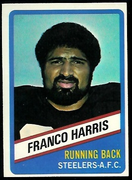 Franco Harris 1976 Wonder Bread football card