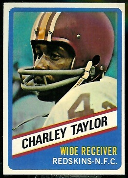 Charley Taylor 1976 Wonder Bread football card