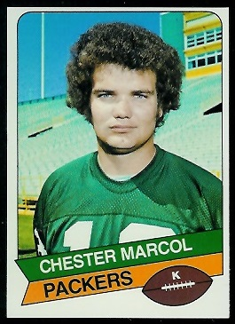 Chester Marcol 1977 Holsum Bread football card