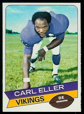Carl Eller 1977 Holsum Bread football card
