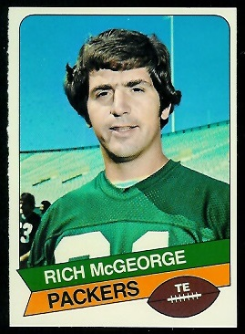 Rich McGeorge 1977 Holsum Bread football card