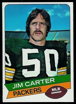Jim Carter 1977 Holsum Bread football card