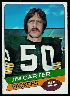 Jim Carter 1977 Holsum Bread football card