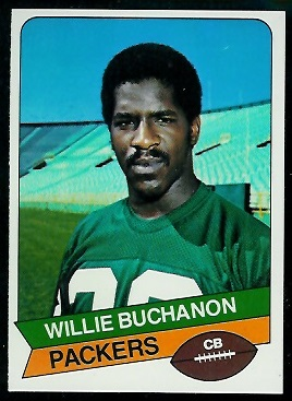 Willie Buchanon 1977 Holsum Bread football card