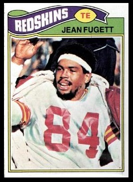 Jean Fugett 1977 Topps football card