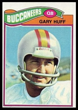 Gary Huff 1977 Topps football card