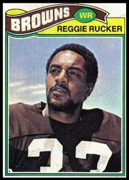 Reggie Rucker 1977 Topps football card