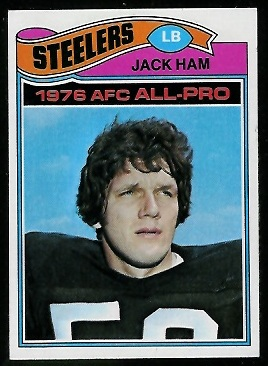Jack Ham 1977 Topps football card