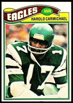 Harold Carmichael 1977 Topps football card