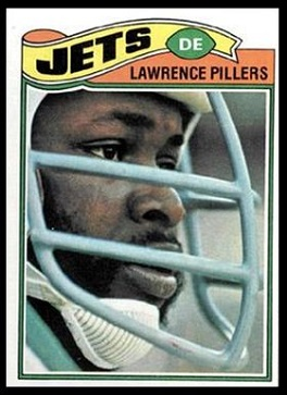 Lawrence Pillers 1977 Topps football card