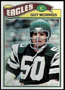 Guy Morriss 1977 Topps football card