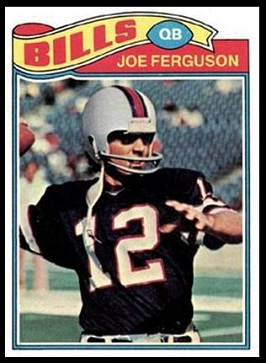 Joe Ferguson 1977 Topps football card