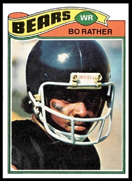 Bo Rather 1977 Topps football card