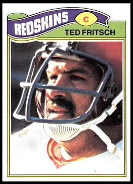 Ted Fritsch Jr. 1977 Topps football card
