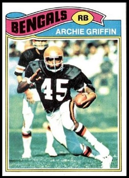 Archie Griffin 1977 Topps football card