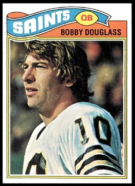 Bobby Douglass 1977 Topps football card