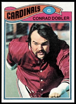 Conrad Dobler 1977 Topps football card