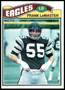 Frank LeMaster 1977 Topps football card