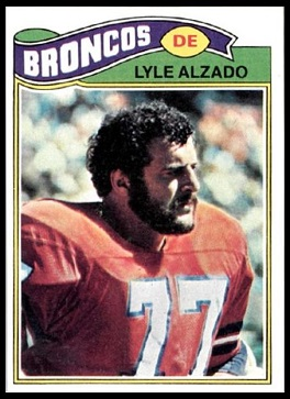 Lyle Alzado 1977 Topps football card