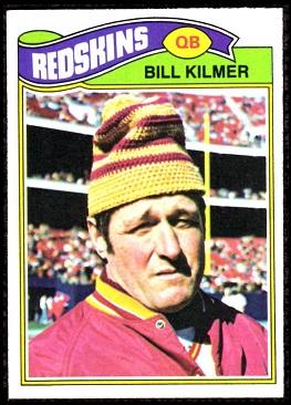Bill Kilmer 1977 Topps football card