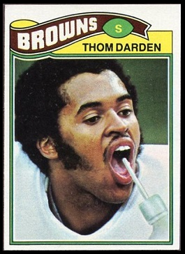 Thom Darden 1977 Topps football card