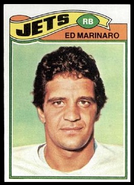 Ed Marinaro 1977 Topps football card