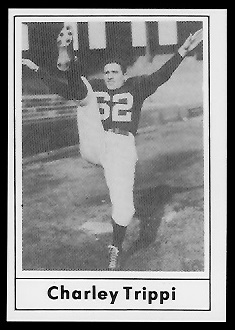 Charley Trippi 1977 Touchdown Club football card