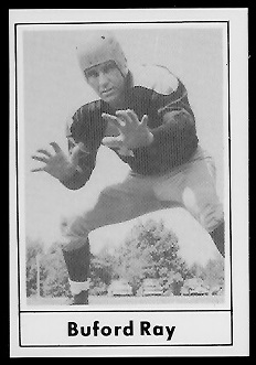 Buford Ray 1977 Touchdown Club football card