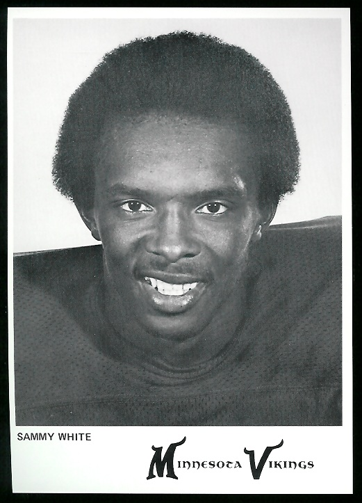Sammy White 1978 Country Kitchen Vikings football card