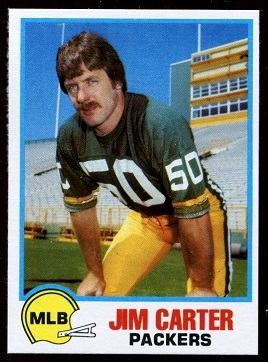 Jim Carter 1978 Holsum Bread football card