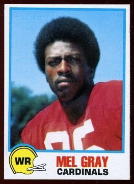 Mel Gray 1978 Holsum Bread football card