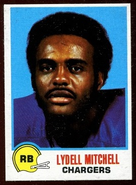 Lydell Mitchell 1978 Holsum Bread football card