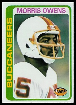 Morris Owens 1978 Topps football card