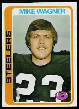 Mike Wagner 1978 Topps football card