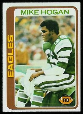 Mike Hogan 1978 Topps football card