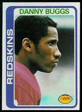 Danny Buggs 1978 Topps football card