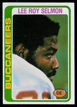 Lee Roy Selmon 1978 Topps football card