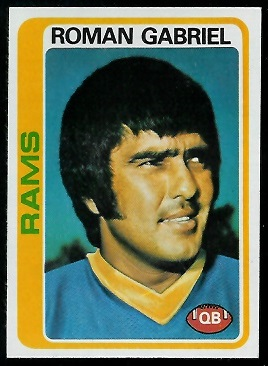 Roman Gabriel 1978 Topps football card