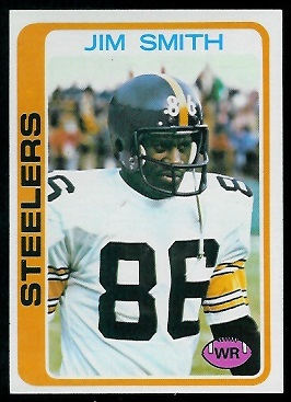 Jim Smith 1978 Topps football card
