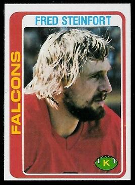 Fred Steinfort 1978 Topps football card